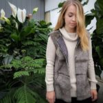 Tribal vest and sweater