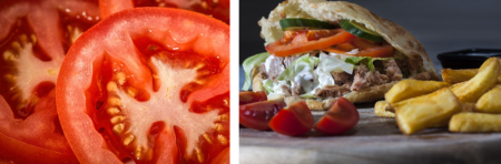 tomato steak sandwich food grow your own vegetables veggies