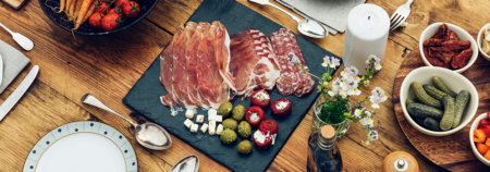 Charcuterie Board Plating