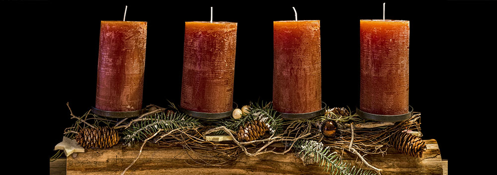 christmas wax candles